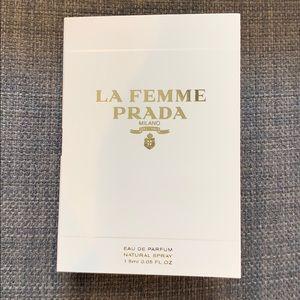 Prada La Femme Sample New
